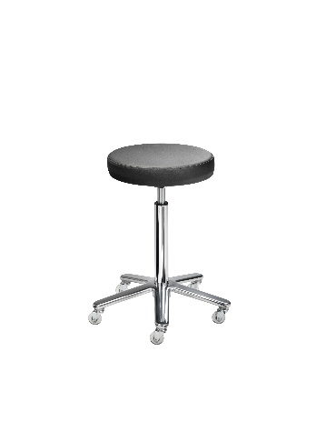 Stool with round seat